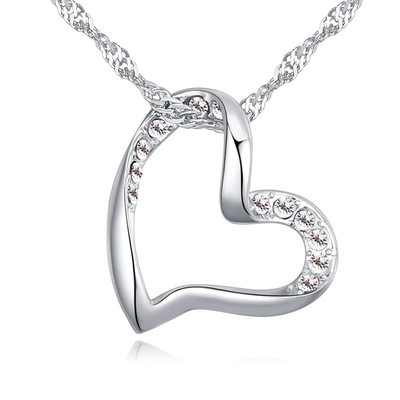 Elegant Alloy/Crystal With Crystal Ladies' Necklaces