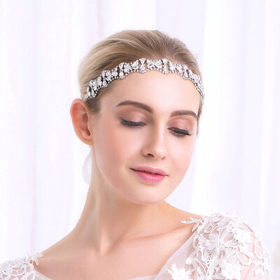 Ladies Gorgeous Rhinestone/Alloy Headbands With Rhinestone