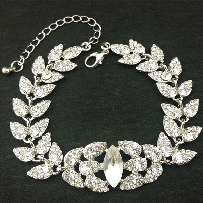 Elegant Alloy/Rhinestones With Rhinestone Ladies' Bracelets