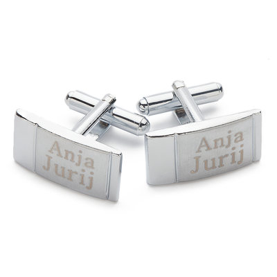 Groom Gifts - Personalized Alloy Cufflinks