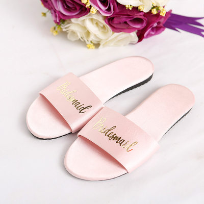 Bridesmaid Gifts - Satin Slippers