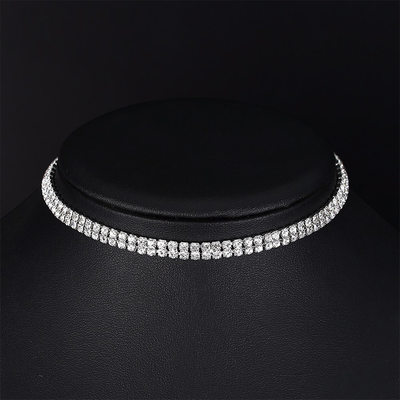 Vintage Alloy/Rhinestones Ladies' Necklaces