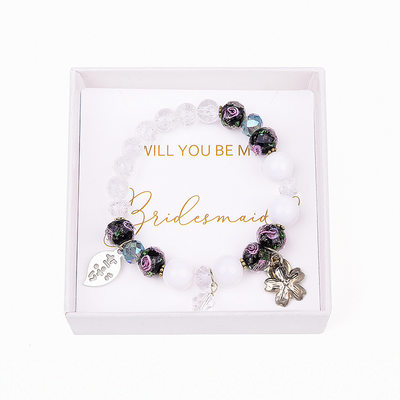 Bridesmaid Gifts - Eye-catching Crystal Jewelry Bracelet