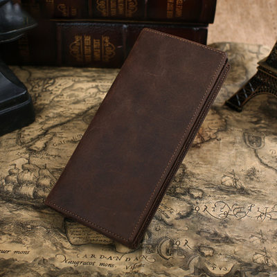Groomsmen Gifts - Classic Leather Wallet