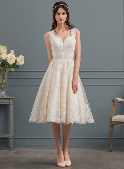 Knee-Length, Wedding Dresses & Bridal Dresses 2018 | JJ\'sHouse