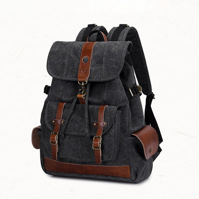 Groom Gifts - Vintage Canvas Backpack