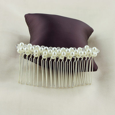 Ladies Special Alloy Combs & Barrettes With Venetian Pearl (Sold in single piece)