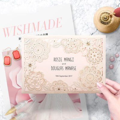 Personalized Tri-Fold Invitation Cards