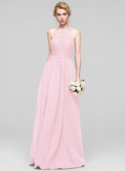 Buy Cheap Blushing Pink Bridesmaid Dresses | JJ\'sHouse