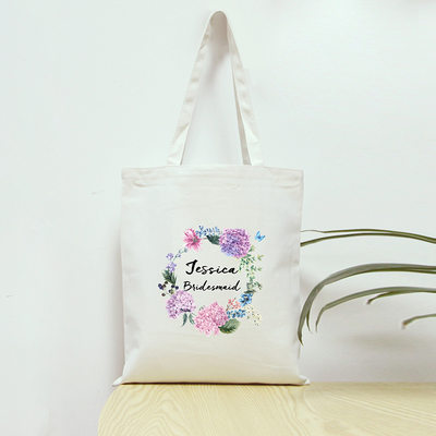 Bridesmaid Gifts - Personalized Fashion Cotton Tote Bag