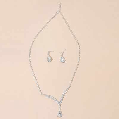 Romantic Alloy/Rhinestones Ladies' Jewelry Sets