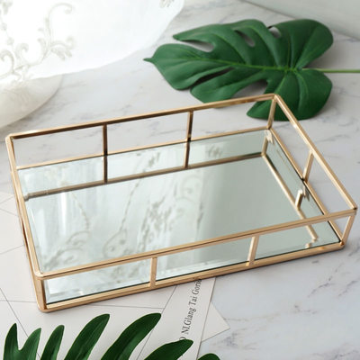 Bride Gifts - Elegant Glass Alloy Jewelry Box