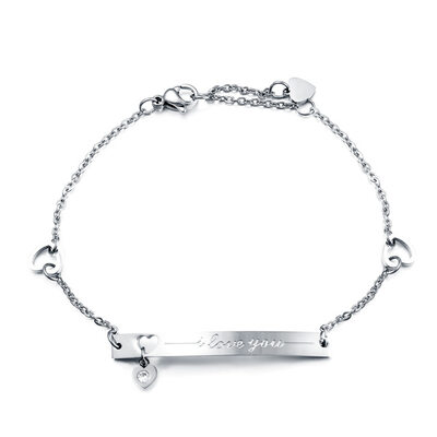 Bride Gifts - Eye-catching Stainless Steel Bracelet