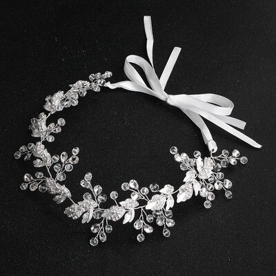 Ladies Crystal/Rhinestone/Alloy Headbands (Sold in single piece)