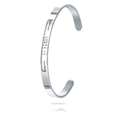 Personalized Unisex Unique Stainless Steel Name Bracelets Bracelets For Bridesmaid/For Friends/For Couple