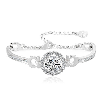 Nice Alloy/Zircon Ladies' Bracelets