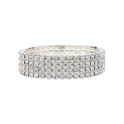 Unique Alloy With Rhinestone Bracelets