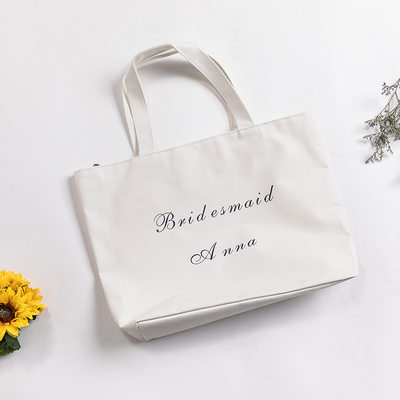 Bridesmaid Gifts - Personalized Classic Canvas Style Special Canvas Bag