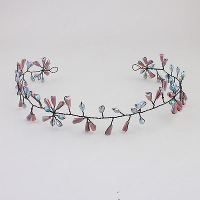 Ladies Magnificent Alloy Headbands With Crystal