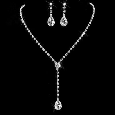 Ladies' Classic Alloy/Rhinestones Jewelry Sets