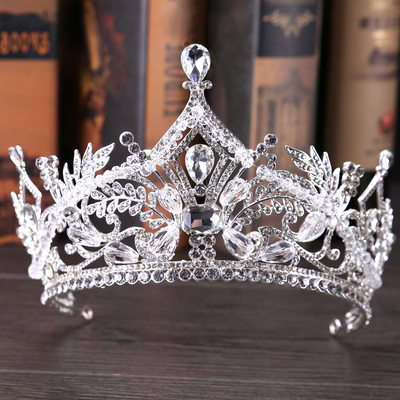 Ladies Gorgeous Rhinestone Tiaras With Imitation Crystal