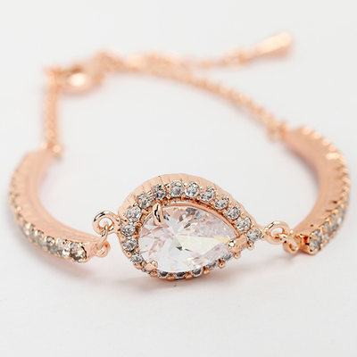 Unique Alloy/Zircon Ladies' Bracelets