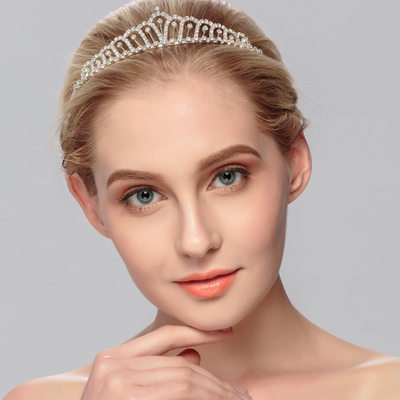 Ladies Elegant Rhinestone/Alloy Tiaras With Rhinestone