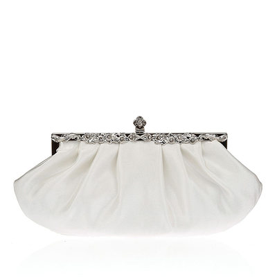 Charming Silk/Crystal/ Rhinestone Clutches/Bridal Purse/Evening Bags