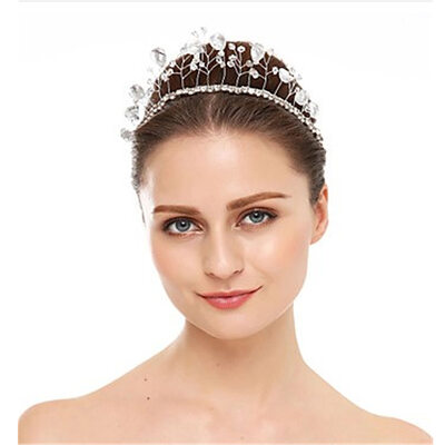Ladies Classic Crystal/Rhinestone/Sequin Headbands (Sold in single piece)
