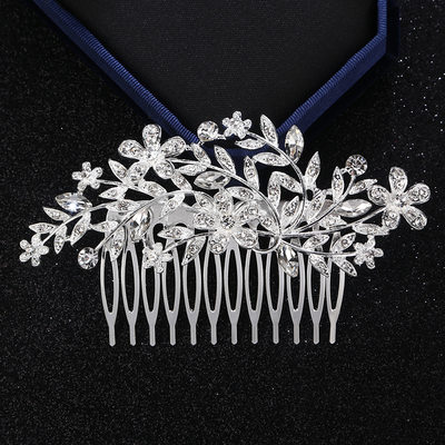 Ladies Amazing Alloy Combs & Barrettes With Rhinestone (Sold in single piece)