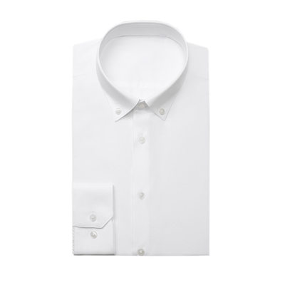 formell stil Button Down Collar Dresskjorter