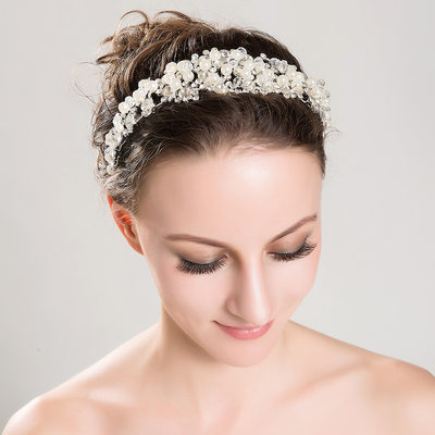 Gorgeous Alloy/Imitation Pearls Tiaras