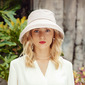 Ladies' Classic/Charming Cotton With Bowknot Bucket Hats