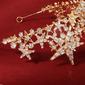 سيدات موضة حجر الراين/أشابة التيجان حجر الراين (تباع في قطعة واحدة)