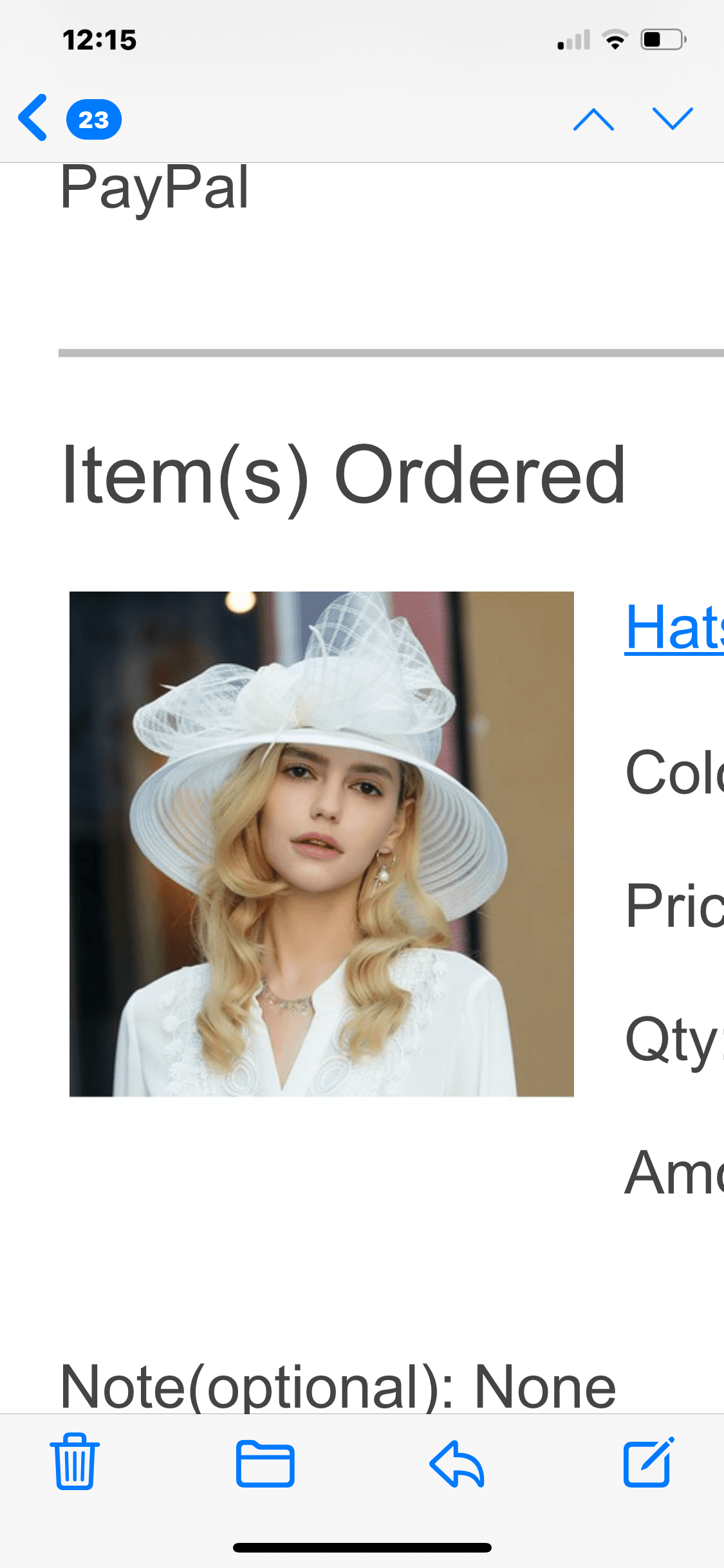Ladies' Exquisite/Fancy/Vintage Polyester With Tulle Floppy Hats/Kentucky Derby Hats
