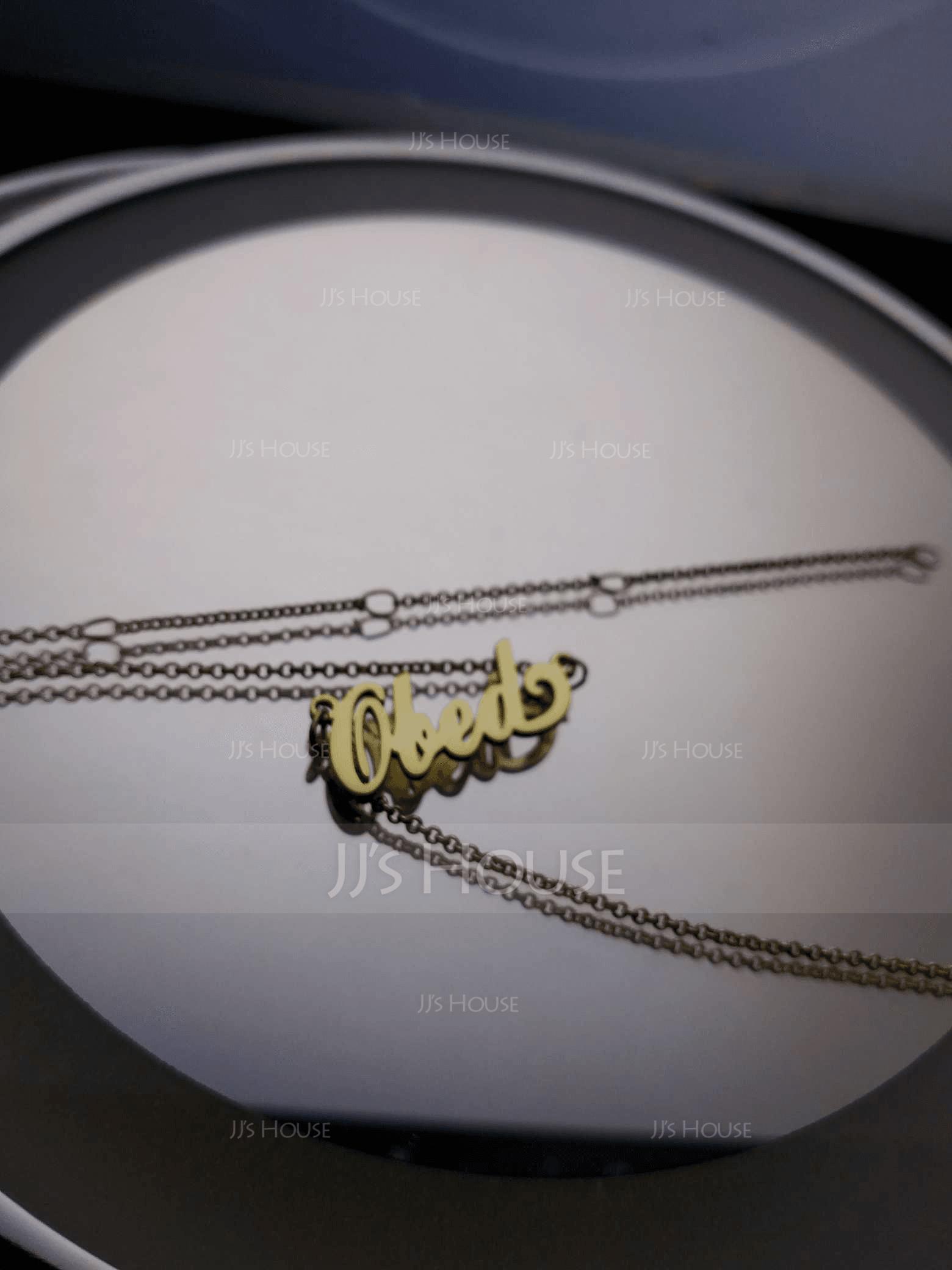Personalizzata Placcato in oro 18 carati Carrie Nome Collana - Regali Di Compleanno Regali Per La Festa Della Mamma