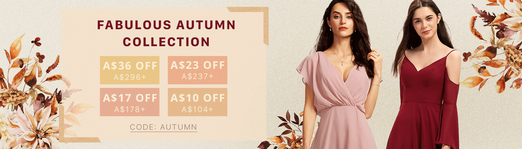 FABULOUS AUTUMN COLLECTION